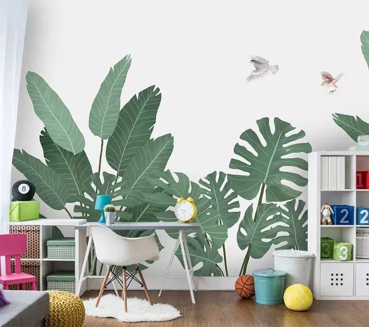 温馨的儿童房壁纸,生活处处是乐趣!